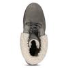 Dámske čižmy s kožúškom weinbrenner, šedá, 696-2168 - 17