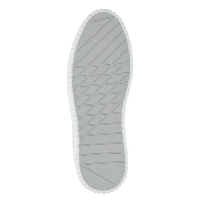Kožená členková obuv bata, modrá, 846-9615 - 26