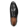 Čierne celokožené poltopánky pánske bata, čierna, 826-6778 - 19