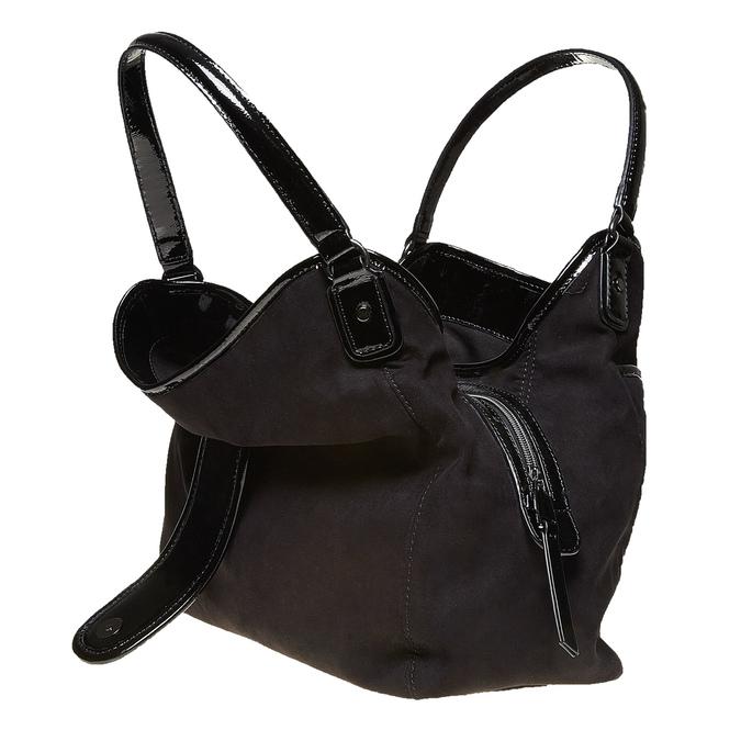 Elegantná dámska kabelka bata, čierna, 969-6209 - 19
