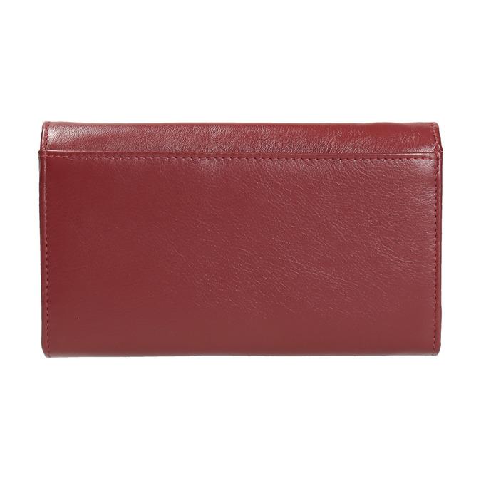 Dámska kožená peňaženka bata, červená, 944-5357 - 19