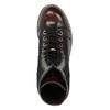 Kožená šnurovacia obuv na výraznej podrážke weinbrenner, červená, 596-5635 - 19