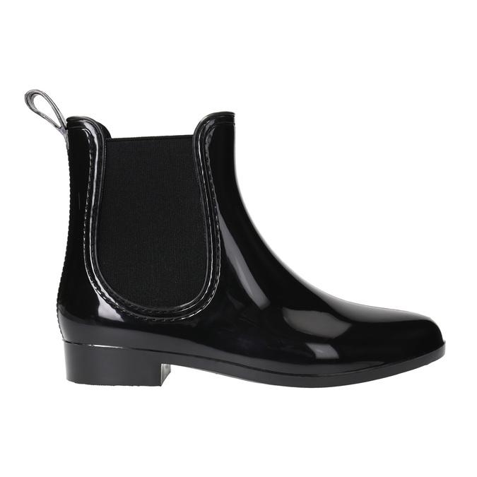 Dámska obuv do dažďa bata, čierna, 592-6779 - 15