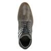 Ležérne pánske poltopánky bata, šedá, 826-2735 - 19