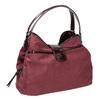 Vínová kabelka s lakovanými detailami bata, fialová, 969-5209 - 13