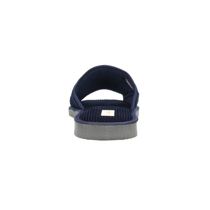 Pánska domáca obuv bata, modrá, 879-9608 - 17
