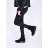 Členková obuv na flatforme bata, čierna, 699-6601 - 18