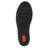 Dámske kožené tenisky bata, čierna, 524-6349 - 26