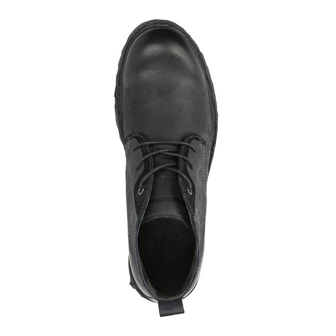 Kožená členková obuv weinbrenner, čierna, 844-6603 - 19