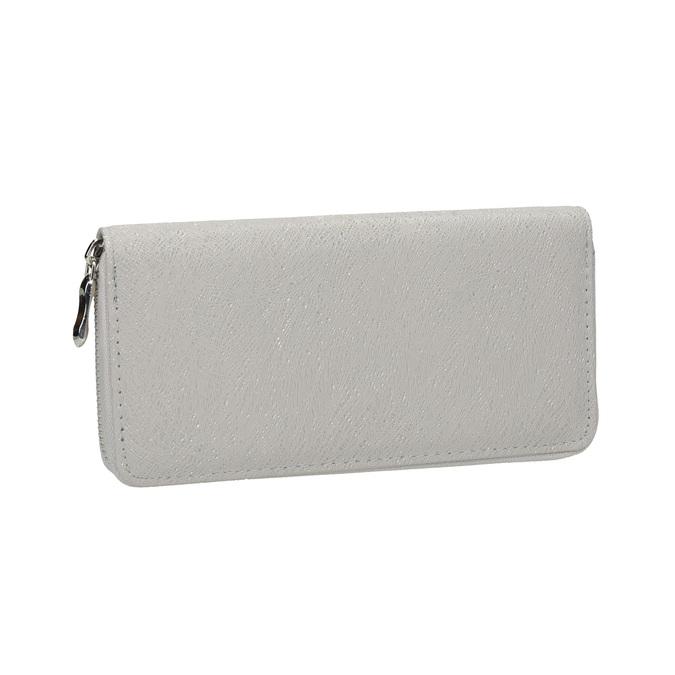 Štýlová dámska peňaženka bata, šedá, 941-2151 - 13