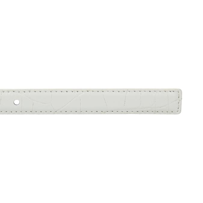 Dámsky opasok bata, biela, 951-1600 - 16