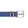 Modrý dámsky opasok bata, modrá, 951-9601 - 26