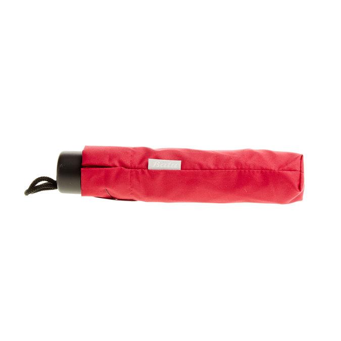 Červený skladací dáždnik bata, červená, 909-5600 - 16
