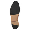 Pánske kožené poltopánky na silnějšej podrážke bata, hnedá, 826-3809 - 19