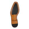 Kožené Oxford poltopánky s Brogue zdobením bata, hnedá, 826-3811 - 26