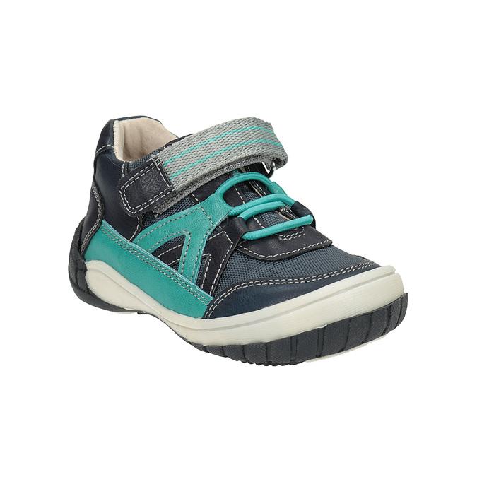 Modrá chlapčenská obuv bubblegummers, modrá, 111-9615 - 13