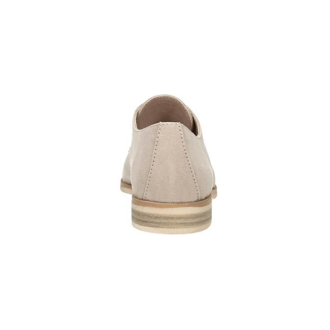 Dámske Derby poltopánky bata, béžová, 529-8632 - 17