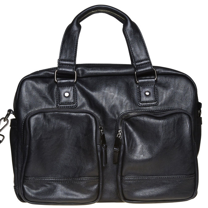 Čierna brašna bata, čierna, 961-6532 - 17