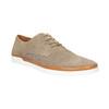 Ležérne kožené poltopánky bata, béžová, 843-8623 - 13