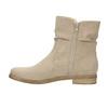 Dámske členkové čižmy bata, béžová, 599-8614 - 26