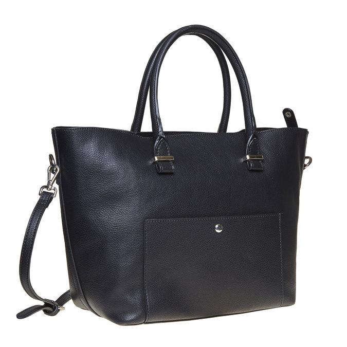 Elegantná dámska kabelka bata, čierna, 961-6278 - 13