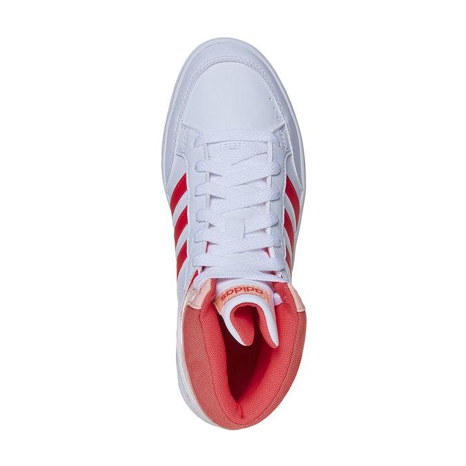 Dievčenské členkové tenisky adidas, biela, 401-5253 - 19
