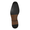 Pánske kožené poltopánky čierne bata, čierna, 824-6818 - 26