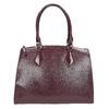 Vínová kabelka s pevnými rúčkami bata, červená, 961-5740 - 26