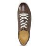 Kožené pánske tenisky bata, hnedá, 846-4617 - 17