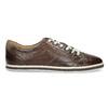 Kožené pánske tenisky bata, hnedá, 846-4617 - 19