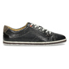 Pánske kožené tenisky bata, čierna, 846-6617 - 19