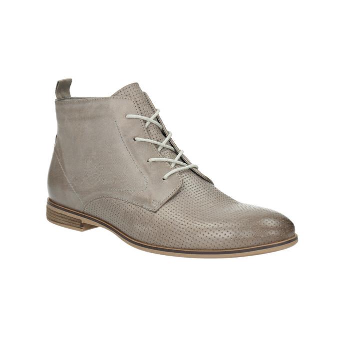 Kožená členková obuv bata, hnedá, 596-2645 - 13