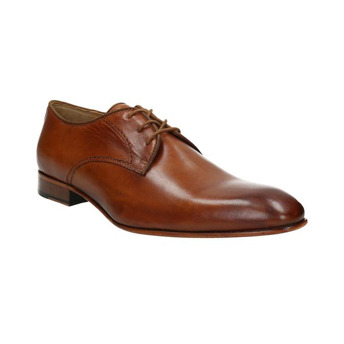 Pánske kožené poltopánky bata, hnedá, 826-3836 - 13