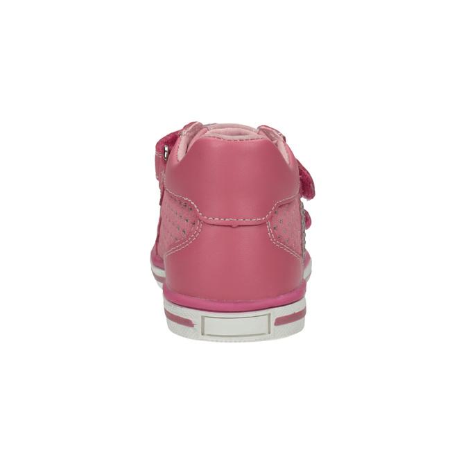 Detské tenisky so suchým zipsom bubblegummers, ružová, 126-5600 - 17