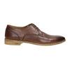 Ležérne kožené poltopánky hnedé bata, hnedá, 826-4807 - 15