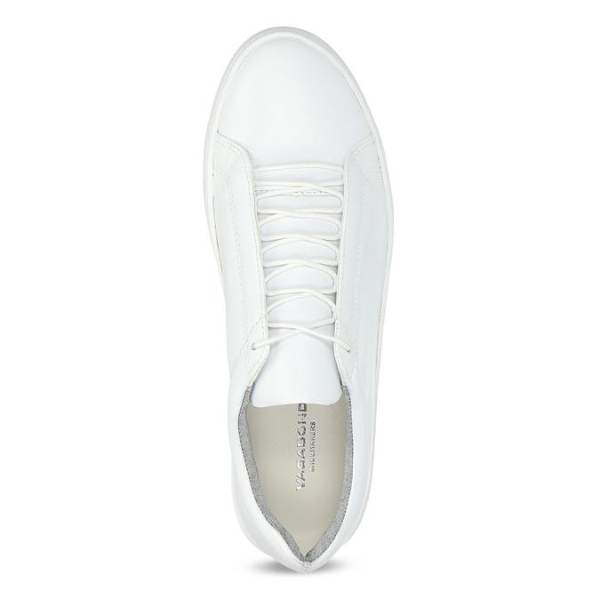 Biele kožené tenisky dámske vagabond, biela, 624-1019 - 17