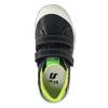 Detská obuv na suchý zips mini-b, čierna, 211-6607 - 19