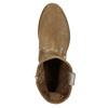 Kožené členkové čižmy bata, hnedá, 596-4653 - 19