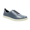 Dámske kožené tenisky modré bata, modrá, 526-9618 - 13