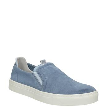 Dámska obuv v štýle Slip-on bata, modrá, 516-9600 - 13