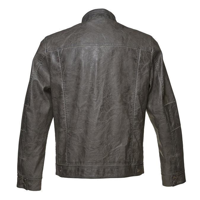 Pánska prešívaná bunda bata, šedá, 971-2194 - 26