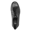 Pánske poltopánky s prešitím bata, čierna, 824-6838 - 19