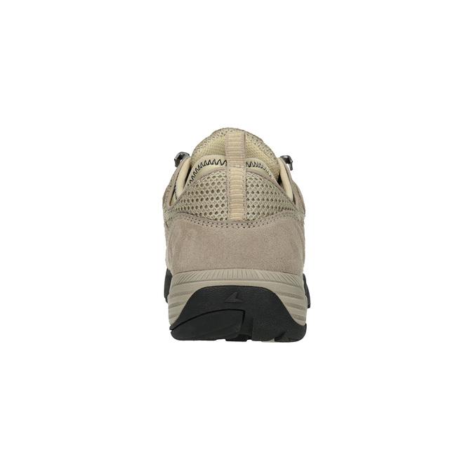 Dámske kožené Outdoor topánky power, hnedá, 503-3118 - 17