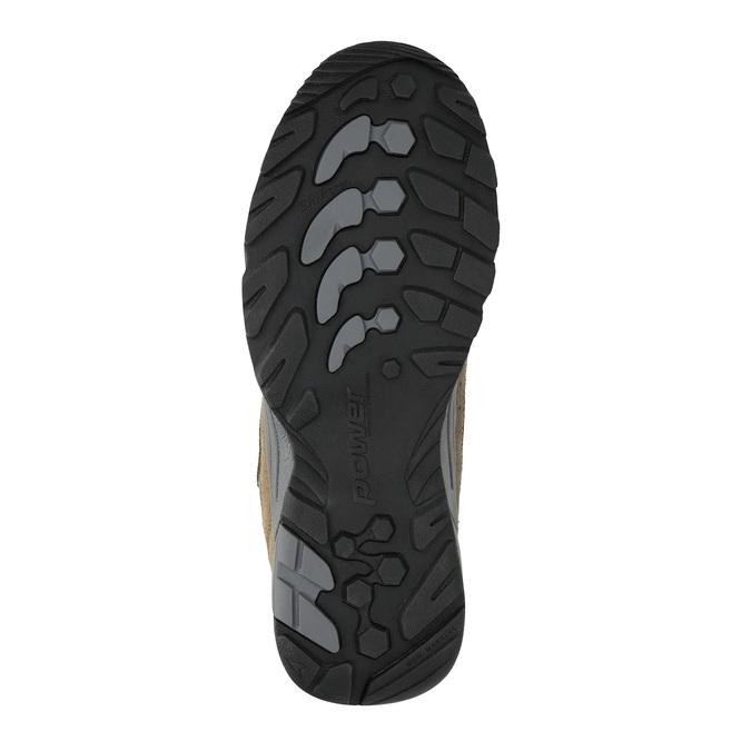 Kožená Outdoor obuv power, hnedá, 803-3118 - 26