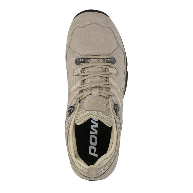 Dámske kožené Outdoor topánky power, hnedá, 503-3118 - 19