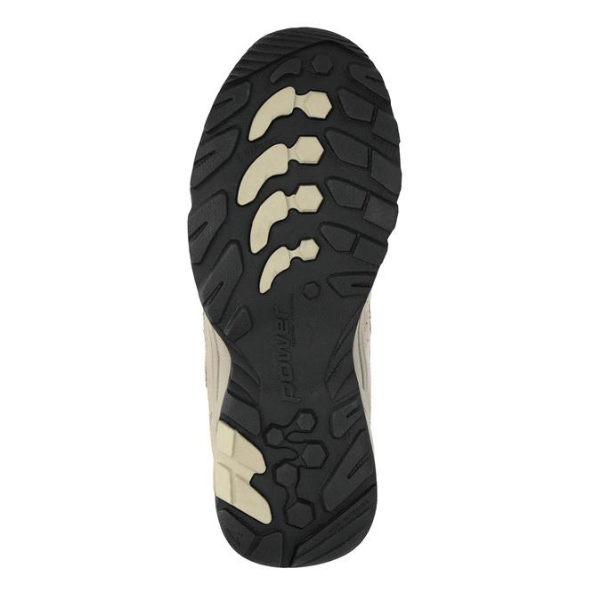 Dámske kožené Outdoor topánky power, hnedá, 503-3118 - 26