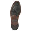 Ležérne pánske kožené poltopánky clarks, hnedá, 826-3089 - 26