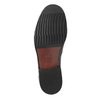 Kožená pánska Loafers obuv bata, čierna, 814-6621 - 26
