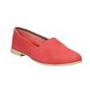 Červené kožené Slip-on topánky bata, červená, 516-5602 - 13