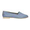 Dámska obuv v štýle Slip-on bata, modrá, 516-9602 - 15